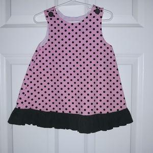 Remember Nguyen 18m pink/chocolate dress